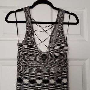 Maxi Dress with Laced Up Back